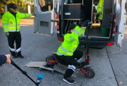 Poliția din Oslo confiscă trotinete electrice