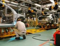 Producția de autoturisme în...