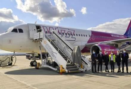 Wizz Air a operat cel mai nou zbor din România
