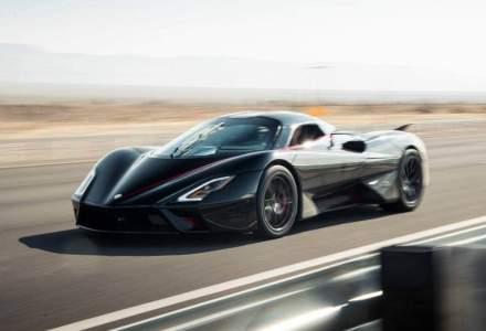 Un hypercar bate recordul de viteză pe șosea: 508,73 km/h