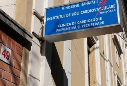 Primii pacienți cu COVID-19 au fost internați în Clinica de Recuperare Cardiovasculară din Timișoara