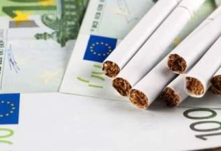Contrabanda cu tigarete urca la cel mai ridicat nivel din ultimii doi ani si jumatate