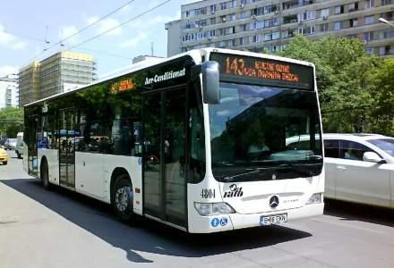 Ce linii de autobuz vor fi deviate în zona lucrărilor de la Pasajul Doamna Ghica