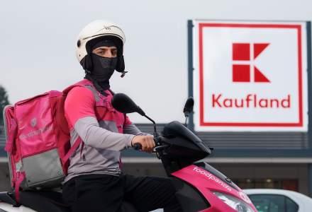 Foodpanda începe să livreze produse de la Kaufland: în cât timp vine comanda și ce poți cumpăra