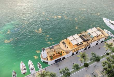 FOTO | Hotel într-o navă tradițională de croazieră. Cum va arăta turismul în Delta Dunării