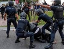 Lupte de stradă în Madrid...