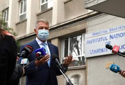 Klaus Iohannis: Vaccinul anti-COVID va ajunge în România în primul trimestru al următorului an
