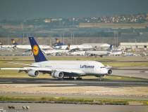 Avioane Lufthansa, blocate pe...