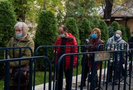 FOTOREPORTAJ   Pelerinaj în București: În general, s-au respectat măsurile de protecție împotriva COVID-19, dar oamenii au putut intra fără să prezinte buletinul