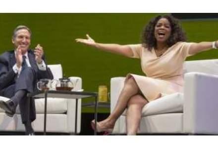 Oprah Winfrey bate palma cu Starbucks si lanseaza un brand de ceai