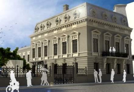 Restaurarea casei Cesianu va fi gata in iulie