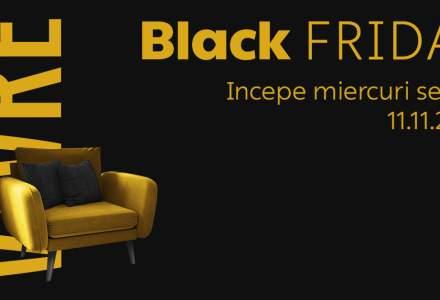 (P) Black Friday începe mâine seară pe Vivre.ro, cu zeci de mii de produse la reducere