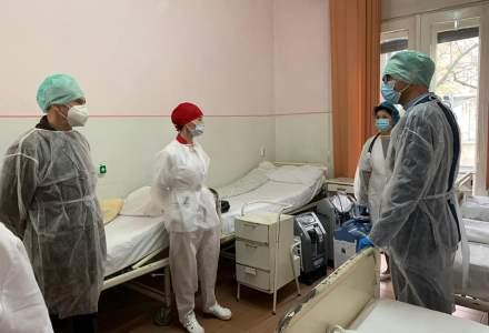 Timișoara suplimentează paturile pentru pacienții cu COVID-19