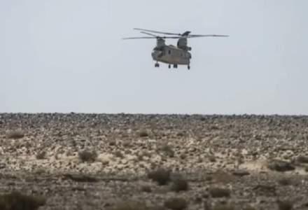 Un elicopter al Forței Multinaționale de Observatori s-a prăbușit în Egipt. 8 militari și-au pierdut viața