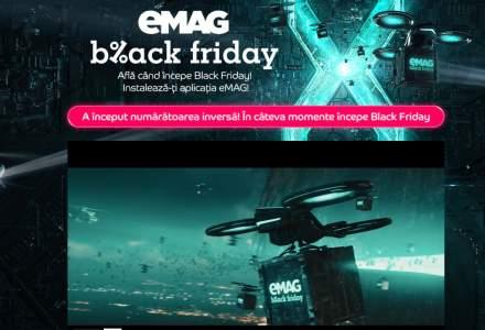 UPDATE: evenimentul Black Friday la eMAG a ÎNCEPUT
