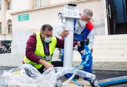 Donație de aparate de ventilație mecanică din partea dm drogerie markt România pentru Spitalul Victor Babeș Timișoara