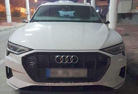 Încă o mașină de lux furată a fost găsită în România