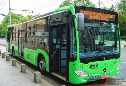 STB: Încă 17 autobuze Mercedes Citaro Hybrid circulă pe linia 605