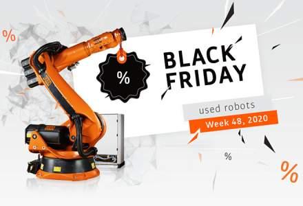 (P) Roboți KUKA second hand cu prețuri reduse de BLACK FRIDAY
