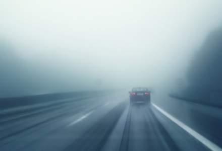 ANM: 14 judeţe, sub Cod galben de ceaţă densă