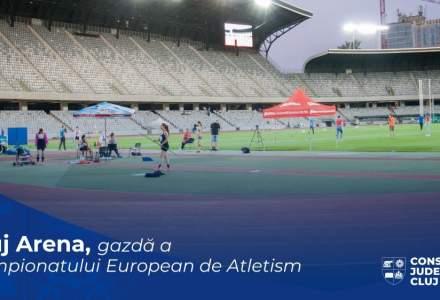 Cluj Arena va găzdui Campionatul European de Atletism