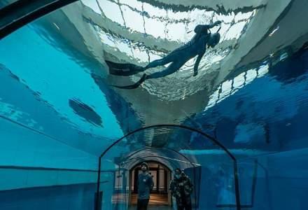 S-a deschis cea mai adâncă piscină din lume
