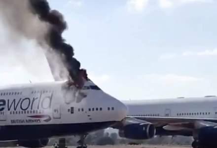 Incendiu în cabina de pilotaj a unui avion