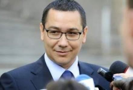 Ponta: Proiectul de lege privind cartelele pre-pay este conform practicii europene