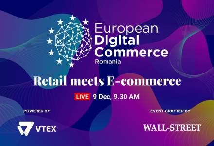 European Digital Commerce: Speakeri de top de la Vtex, Elefant.ro, Postis sau City Grill vin la eveniment