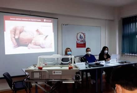 Spitalul Județean de Urgență Oradea primește aparatură medicală pentru secția de neonatologie