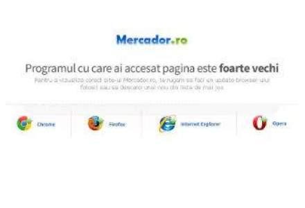 Pentru ultima oara: sa ne uitam la Web prin ochii recent-defunctului Internet Explorer 6