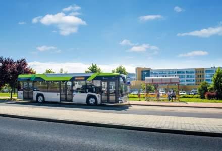 Câte autobuze electrice vor intra în România în 2021
