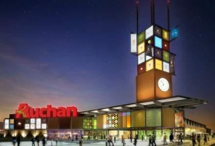 Auchan investeste 100 mil. euro anul acesta in Romania. Hipermarketul din Drumul Taberei ar putea fi finalizat in decembrie