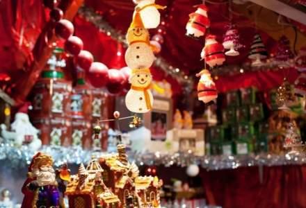 Târgul de Crăciun de la Craiova, închis după o oră de la deschidere