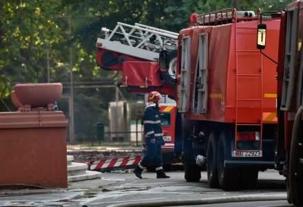 Incendiu la un bloc din Sibiu: 50 de persoane s-au autoevacuat