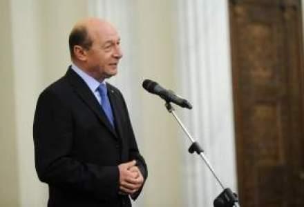 Basescu, despre unirea cu Moldova: Daca suna la Bucuresti, se va realiza