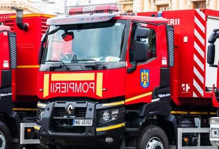 Incendiu la o secție de votare din județul Prahova. Procesul de vot a fost întrerupt