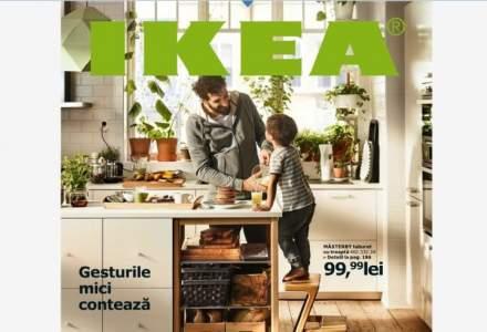 Ikea renunţă la catalogul anual, deoarece cumpărătorii se mută pe online