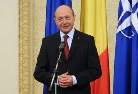 Traian Basescu, catre investitori: Puteti avea incredere in economia Romaniei, devine performanta