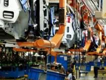 Producția industrială a...
