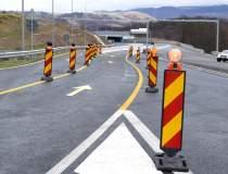 Primul sector din autostrada...