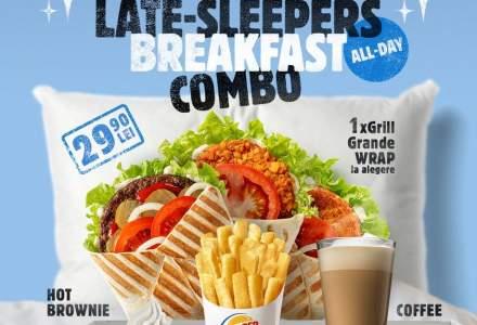 Burger King lansează un nou meniu