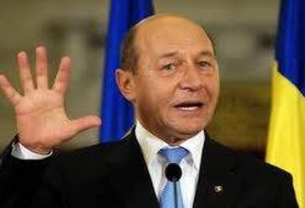 Basescu despre Rogozin: Trebuie aflat cata vodca consumase inainte sa faca aceste declaratii