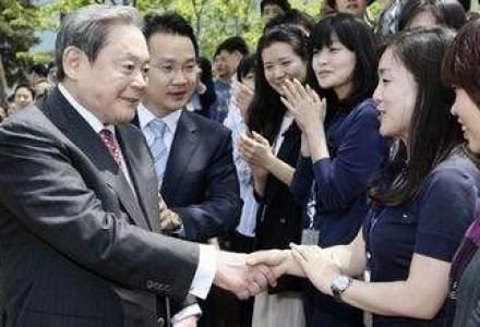 Presedintele Samsung, resuscitat si operat in urma unui infarct