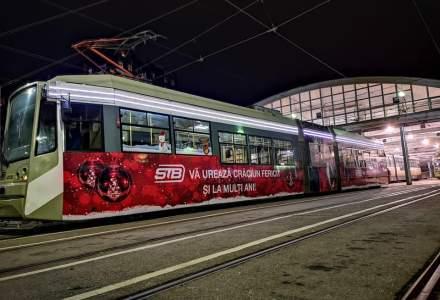 STB intră în spiritul sărbătorilor: ce tramvaie vor circula în București