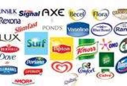 Image comunica pentru doua categorii de produse Unilever
