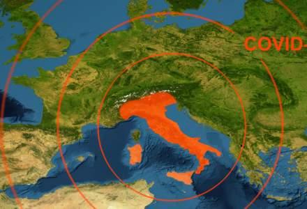 Temeri în Italia: Noua tulpină coronavirus, descoperită la o persoană care nu a avut contact cu nimeni din Marea Britanie