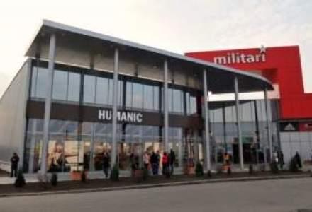Veniturile Militari Shopping Center au scazut cu 17% in T1, ca urmare a dificultatilor Praktiker