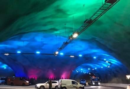 [VIDEO] Cum arată sensul giratoriu și tunelurile construite pe fundul Oceanului Atlantic în Feroe