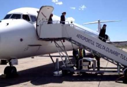 Fly Romania a efectuat primul zbor de linie catre Tulcea. Pe ce mizeaza Ovidiu Tender